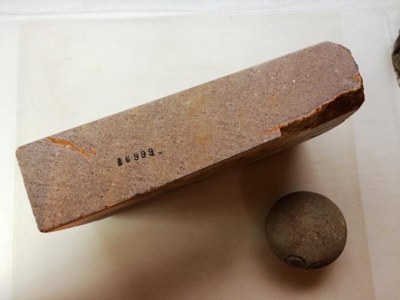 画像2: 天然砥石古代伊予銘砥 むらさき巨漢 6999