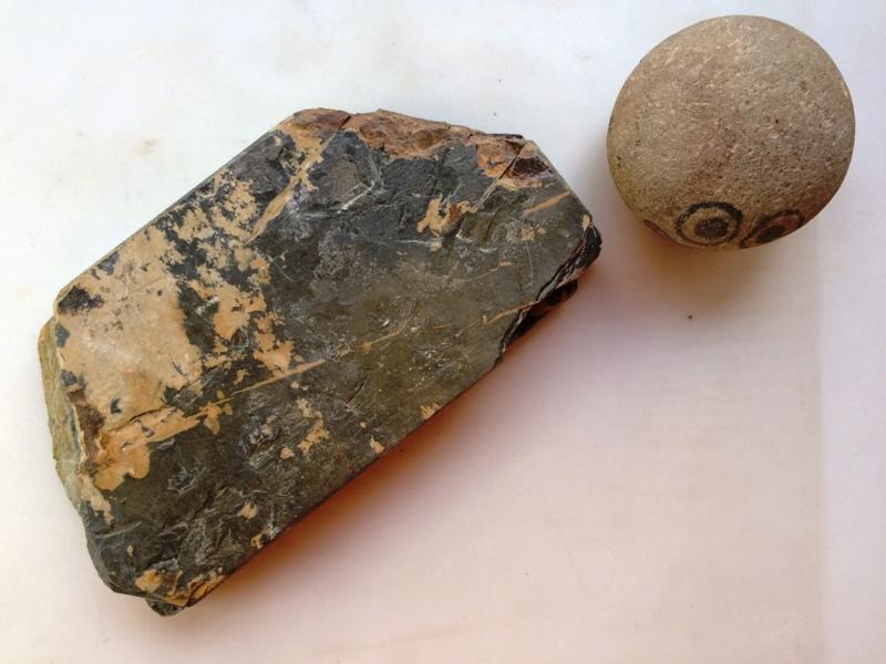 画像3: 天然砥石 正本山 山城銘砥 試掘 からす 7045