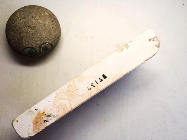 画像2: 天然砥石 古代伊豫銘砥 選べるちび砥石・名倉・置物・文鎮・民生品 7153