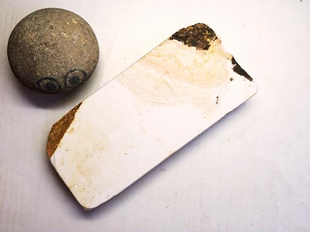 画像3: 天然砥石 古代伊豫銘砥 選べるちび砥石・名倉・置物・文鎮・民生品 7153