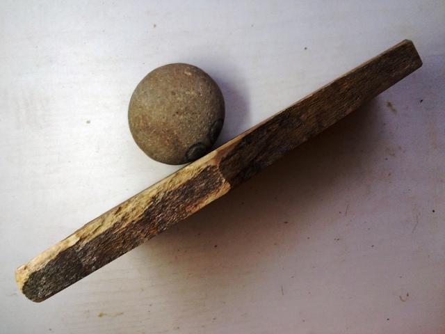 画像2: 天然砥石 正本山 山城銘砥 中世中山 なみと広々無傷上 7264