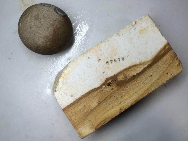 画像3: 天然砥石 古代伊豫銘砥 のみ 鉋 包丁 パワーオブ石さん 7676