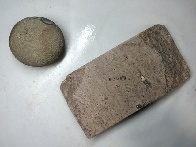 画像3: 天然砥石 古代伊豫銘砥 のみ 鉋 包丁 むらさきじょり 7689
