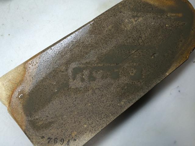 画像4: 天然砥石 古代伊豫銘砥 のみ 鉋 包丁 硬口むらさき 7694
