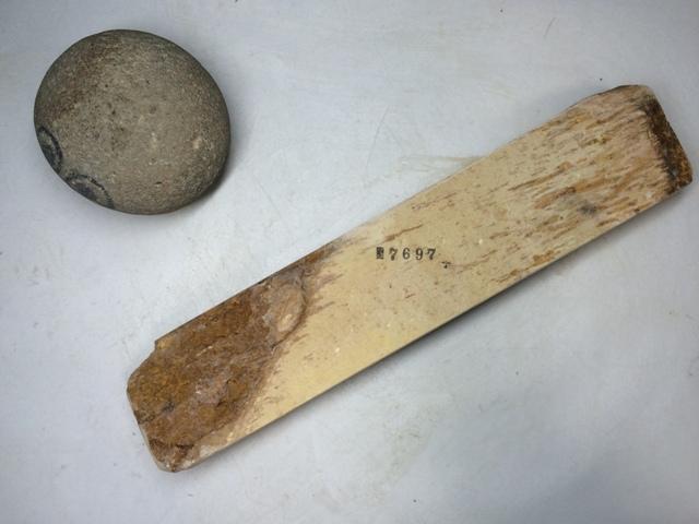 画像3: 天然砥石 古代伊豫銘砥 のみ 鉋 包丁 7寸細長 7697