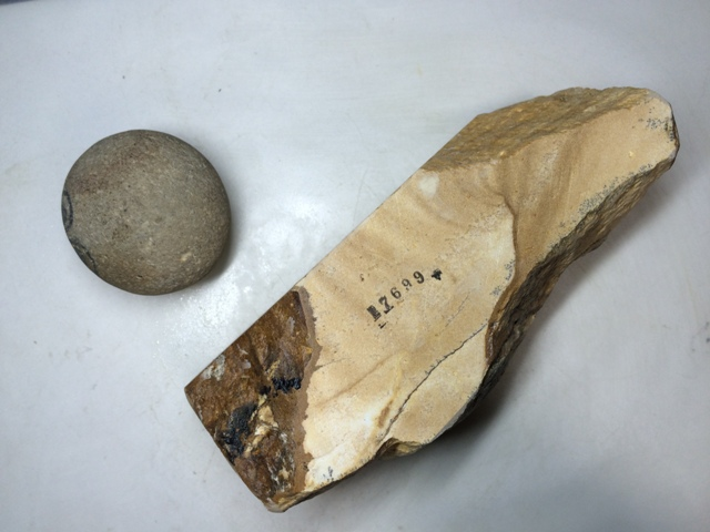 画像3: 天然砥石 古代伊豫銘砥 のみ 鉋 包丁 木目岩肌残し 7699