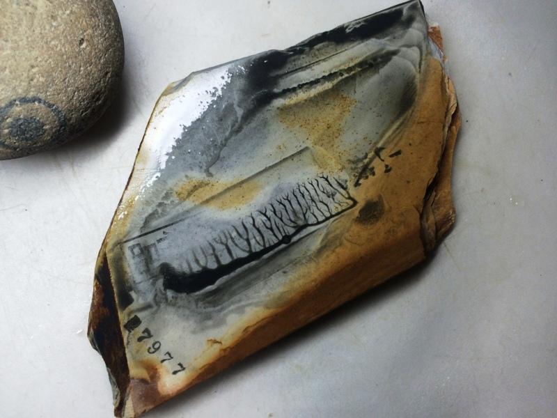 画像4: 天然砥石 正本山 山城銘砥 奥殿すいたこっぱ 7977