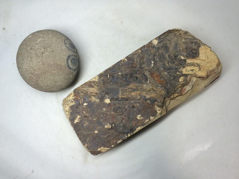 画像3: 天然砥石 正本山 山城銘砥 奥殿うぐいすいた 7979