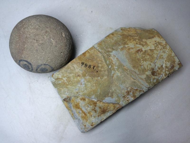 画像3: 天然砥石 正本山 山城銘砥 奥殿巣板 7981