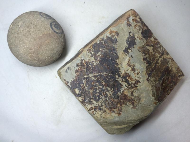 画像3: 天然砥石 正本山 山城銘砥 奥殿みどり 7982