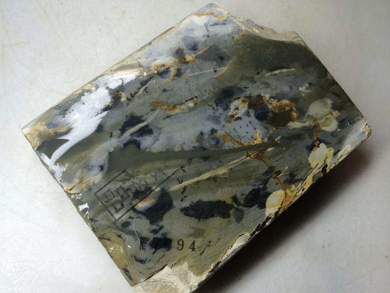 画像4: 天然砥石 正本山 山城銘砥 奥殿からす 7994