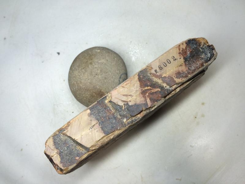 画像2: 天然砥石 正本山 山城銘砥 奥殿柔いなまず 8002
