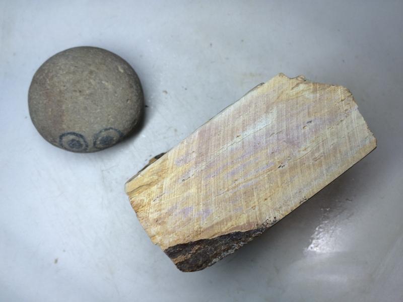 画像2: 天然砥石 正本山 山城銘砥 奥殿巣板塔 8003