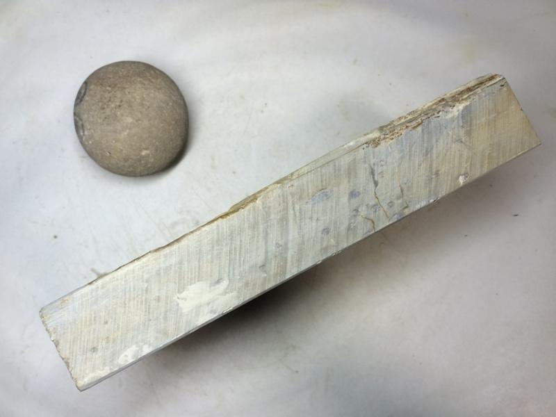 画像2: 天然砥石 正本山 山城銘砥 奥殿?層 8092