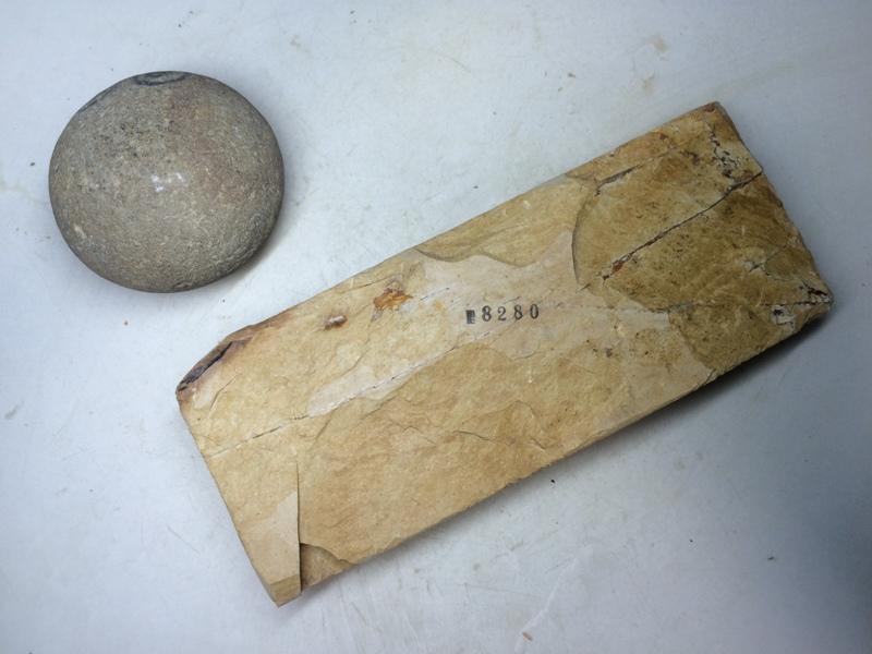 画像3: 天然砥石 正本山 山城銘砥 梨地でできた黄色 8280