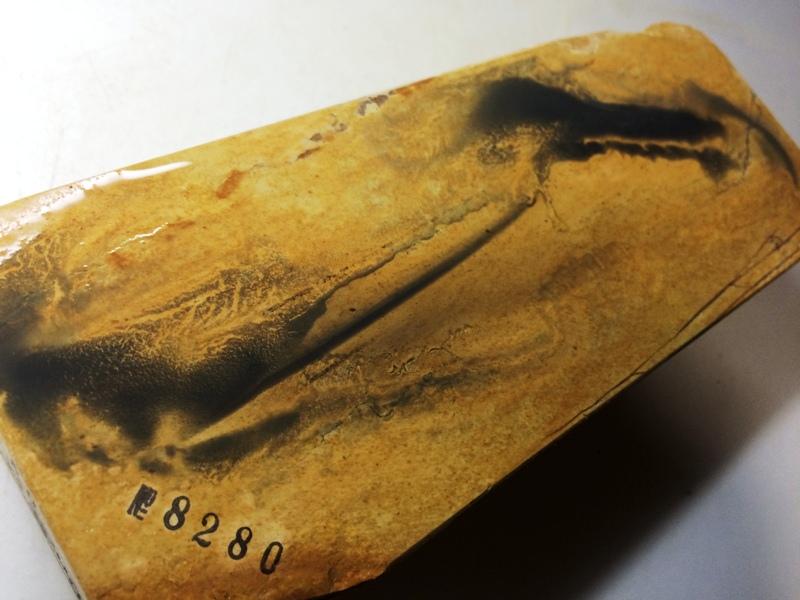 画像4: 天然砥石 正本山 山城銘砥 梨地でできた黄色 8280