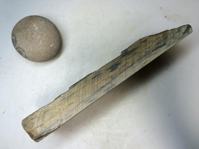 画像2: 天然砥石 正本山 山城銘砥 とびからす 8302