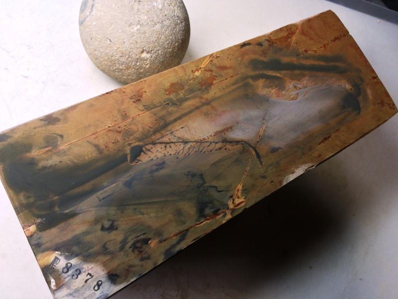 画像4: 天然砥石 正本山 山城銘砥中世中山戸前からす1.7Kg40 8378
