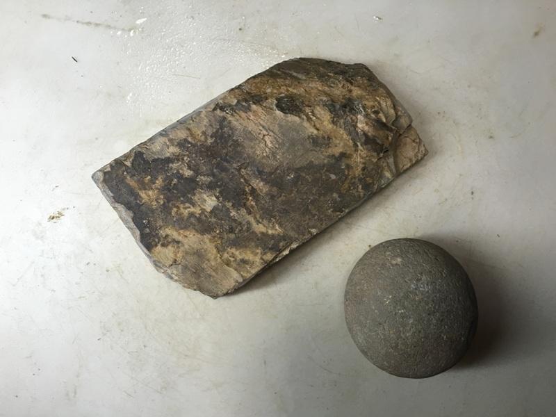 画像3: 天然砥石 正本山 山城銘砥中世中山戸前血繁吹0.5Kg 8839