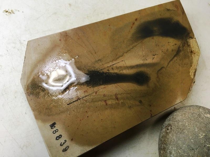 画像4: 天然砥石 正本山 山城銘砥中世中山戸前血繁吹0.5Kg 8839