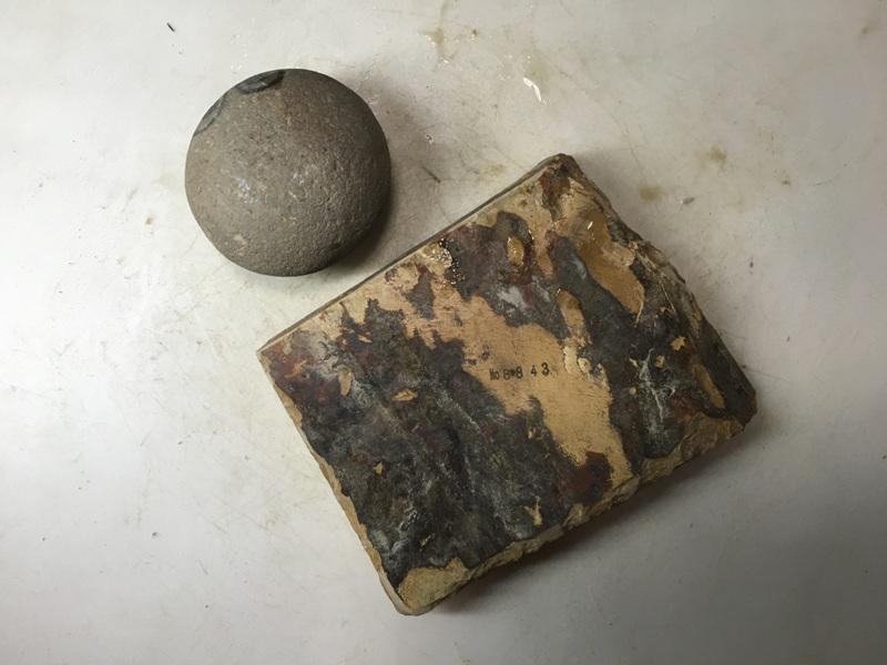 画像3: 天然砥石 正本山 山城銘砥中世中山巣板0.6Kg 8843