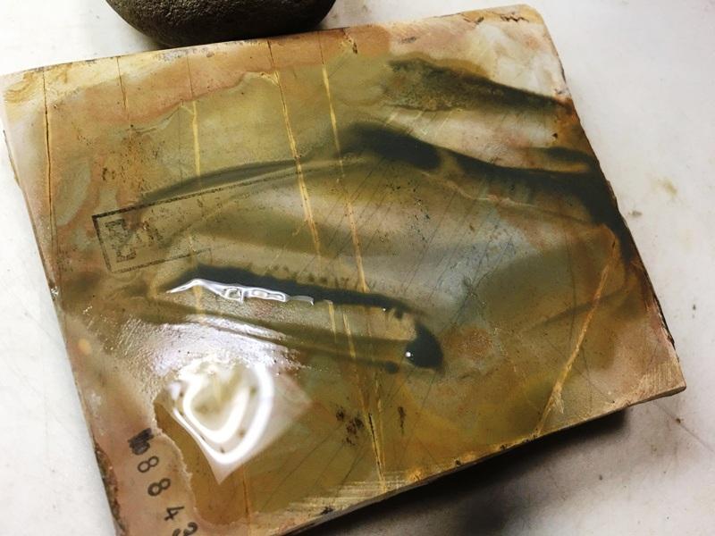 画像4: 天然砥石 正本山 山城銘砥中世中山巣板0.6Kg 8843