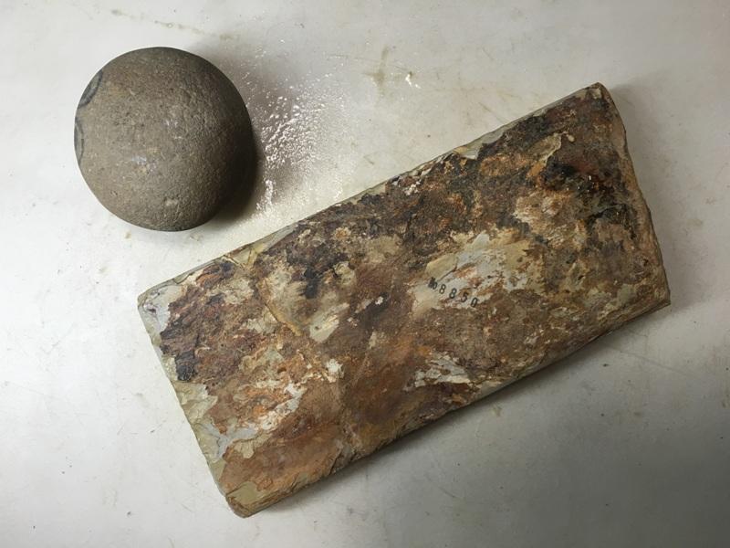 画像3: 天然砥石 正本山 山城銘砥中世中山巣板0.8Kg 8850