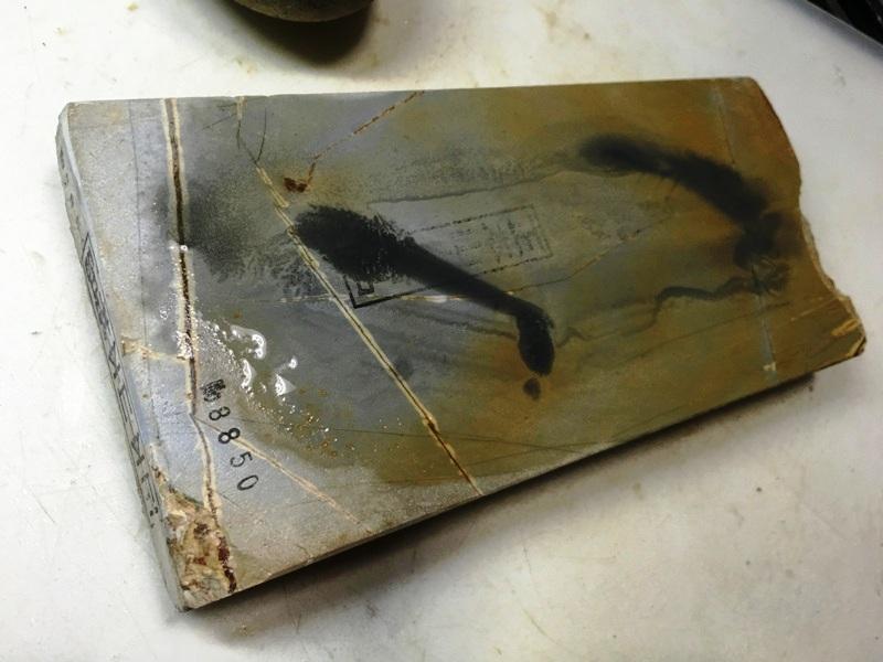 画像4: 天然砥石 正本山 山城銘砥中世中山巣板0.8Kg 8850