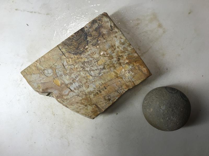 画像3: 天然砥石 正本山 山城銘砥奥殿本巣板1Kg 8852