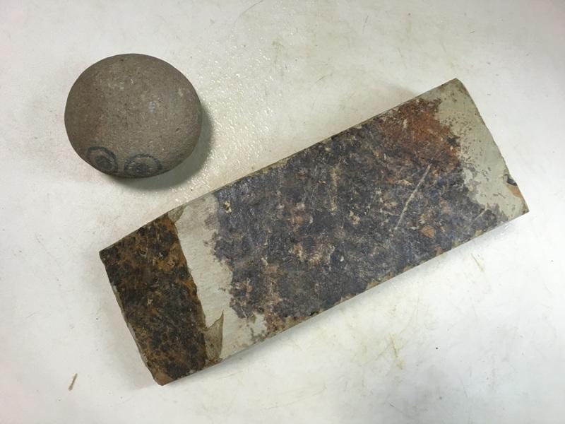 画像3: 天然砥石 美山 かたい1.1Kg 8968