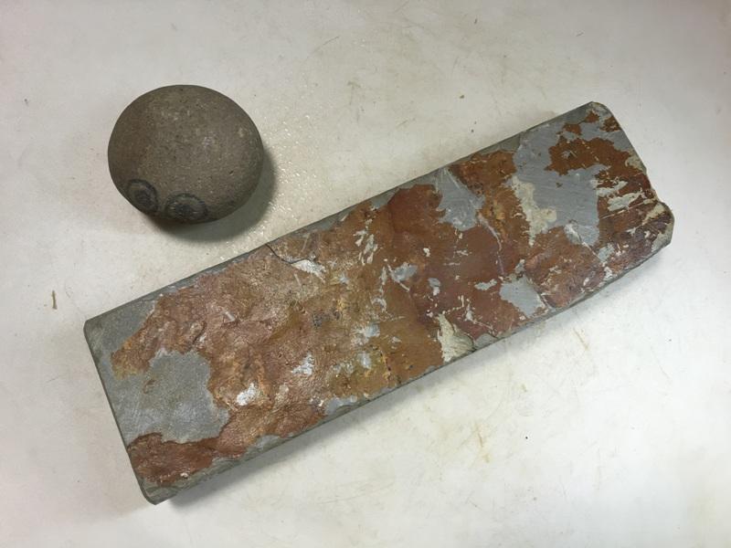 画像3: 天然砥石 美山 かたい1.3Kg 8972