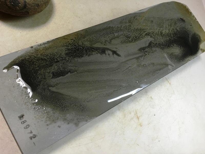 画像4: 天然砥石 美山 かたい1.3Kg 8972