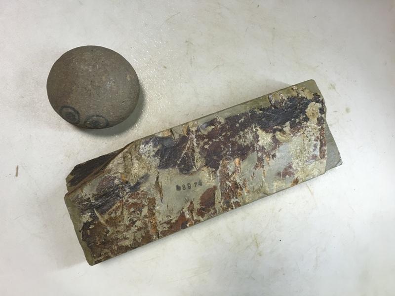 画像3: 天然砥石 美山 かたい1.1Kg 8974