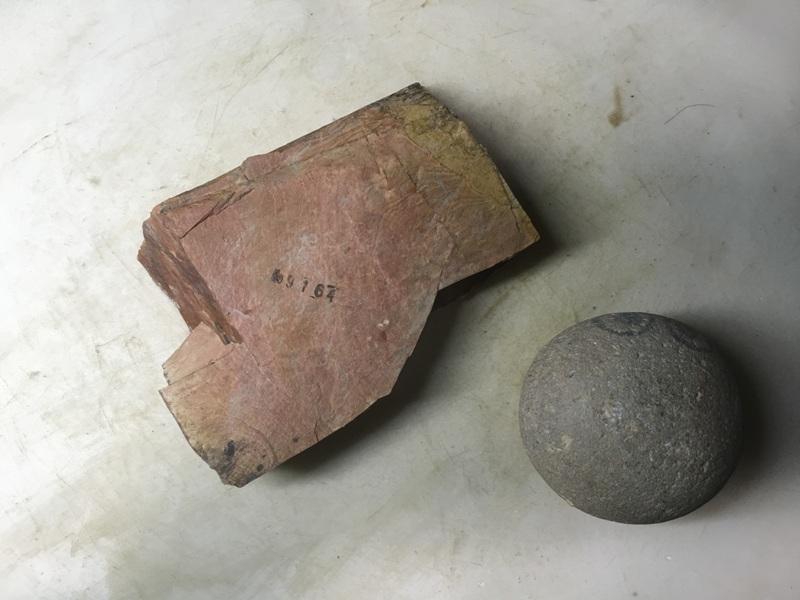 画像3: 天然砥石 正本山 山城銘砥中世中山 戸前赤環巻硬そう0.3Kg 9164