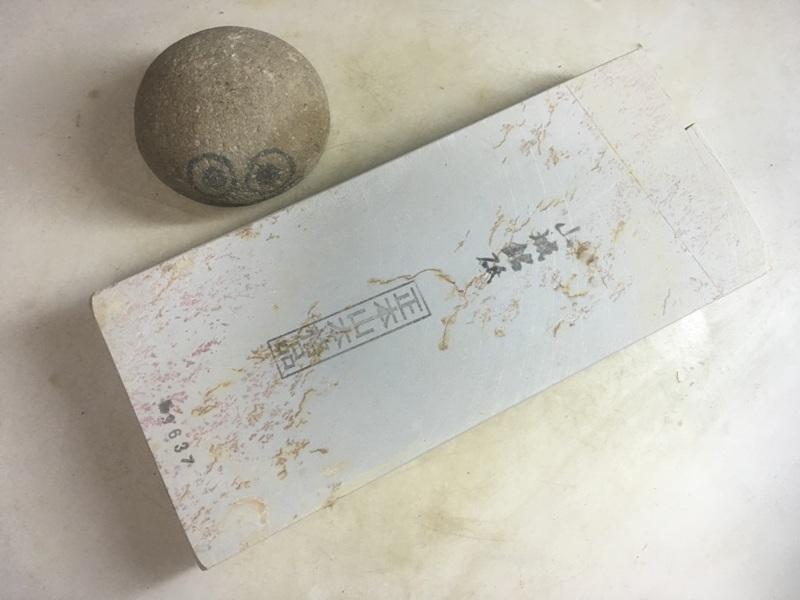 画像1: 天然砥石 正本山 山城銘砥京都市梅ケ畑産 1.2Kg 9637