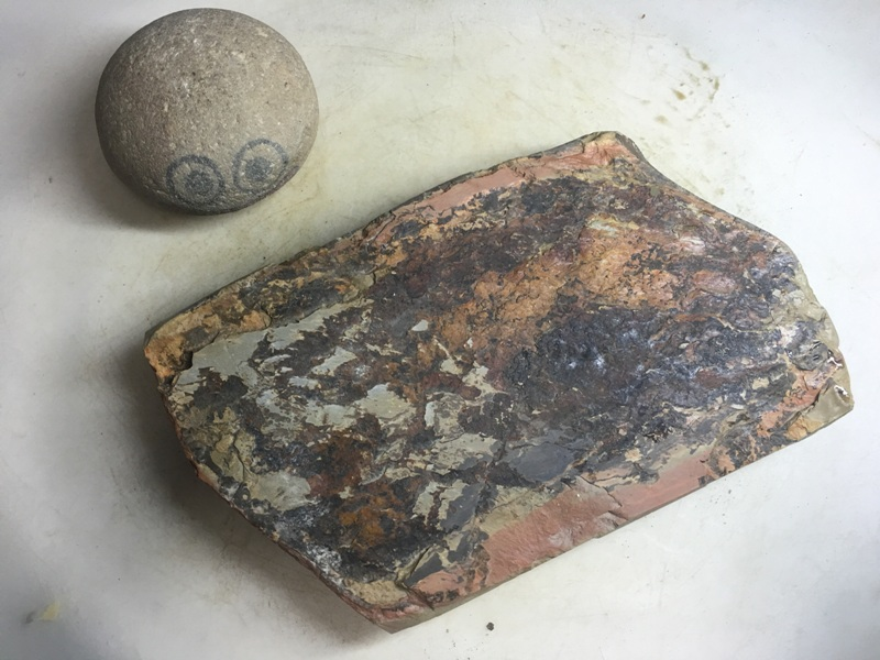 画像3: 天然砥石 正本山京都市梅ケ畑産奥殿戸前東緑 1.2Kg 9805