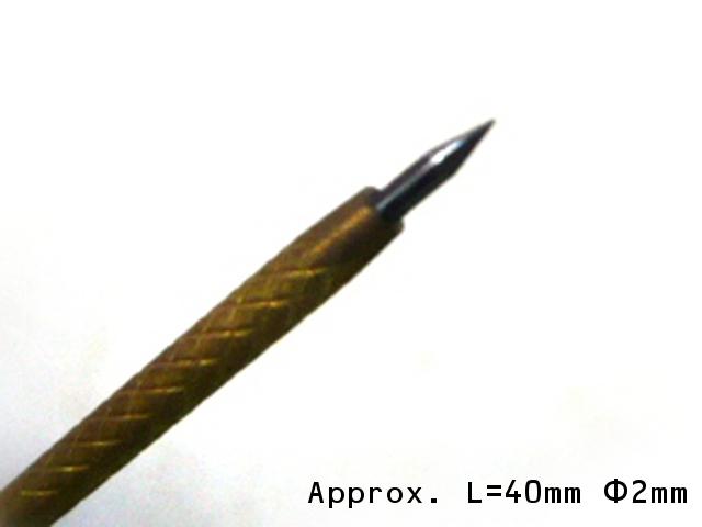 画像2: 送料無料  超硬チップ 砥石筋彫り針 ワイヤブレーカー