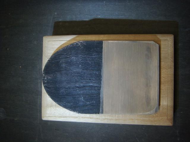 画像1: 常三郎 燕鋼木目綿帽子鉋 70mm