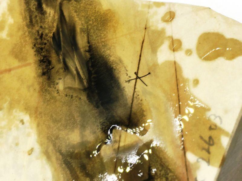 画像4: 天然砥石 正本山 山城銘砥京都市右京区梅ケ畑向ノ地町古眞中山八枚超々鯰梨地 745g zx22603